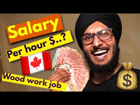 SALARY Of A CARPENTER In CANADA-ਕਨੇਡਾ