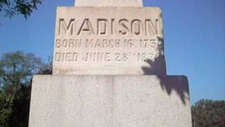 Presidential gravesites: James Madison