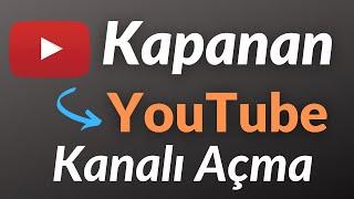 Kapanan Youtube Hesabı Nasıl AÇILIR - Nasıl İtiraz Edilir