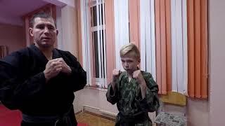 Рукопашный бой. Урок №1. Основы прямого удара рукой