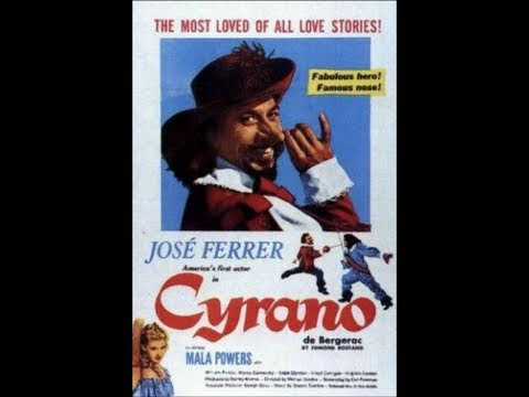 an analysis of the character cyrano de bergac portrayed by jose ferrer as a brave and boastful man