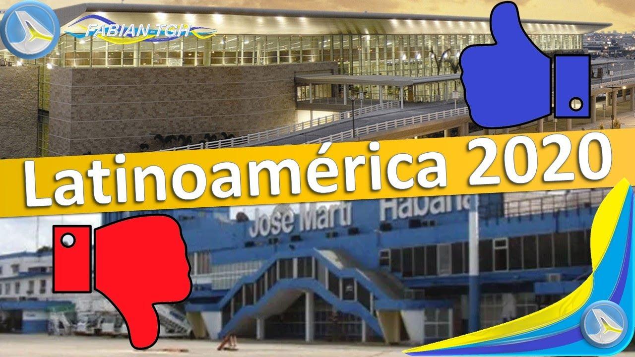 TOP 3 Los Mejores y Peores Aeropuertos de Latinoamérica [2020]