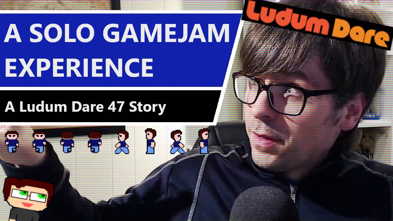 Thumbnail images for Solo Gamejam Experience | A Ludum Dare 47 Story video