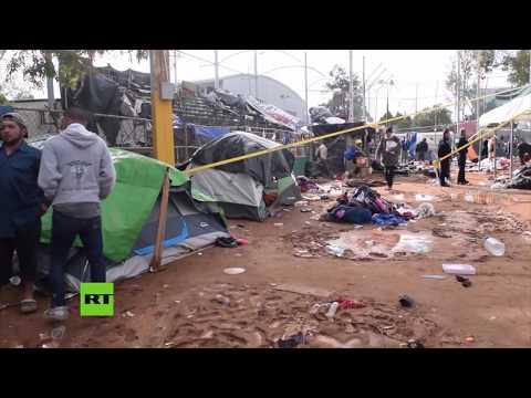 Cortan servicios a migrantes para forzarlos a trasladarse en Tijuana