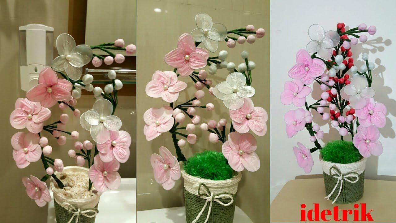 Cara Membuat Bunga Anggrek dari Kantong plastik - YouTube 79d54eabf8