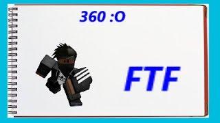 I 360-ed THE BEAST!!!!!! [ROBLOX Flee the Facility]