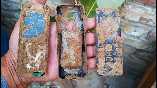 Old Mobile Phone Restoration / Renovation Nokia 108 Model Camera Phone