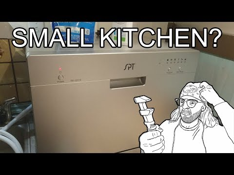 SPT Countertop Dishwasher for Small Kitchens! Setup & Review