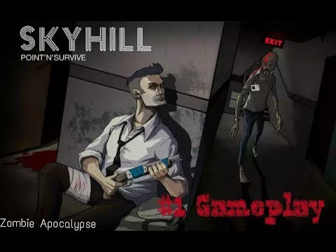 Sky Hill #1 ( Zombie Apocalypse )  One of the best Android game. (Gameplay)  