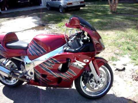 99 GSXR 600 Srad