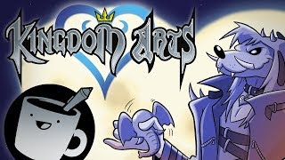 Artists Try Drawing Kingdom Hearts Characters (That They've Never Seen)