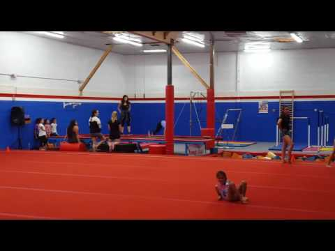 Our level 1 & level 2 royal girls practicing hard