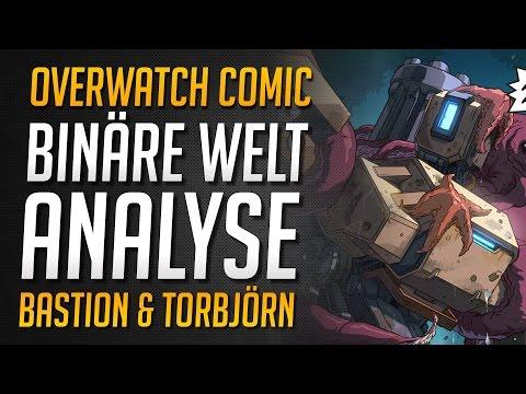 BINÄRE WELT COMIC ANALYSE | Overwatch Story | Torbjörn und Bastion ★ Overwatch Deutsch