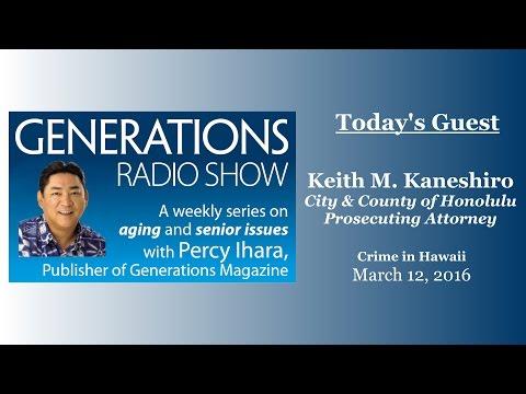 Generations Radio - Keith M. Kaneshiro 03-12-2016