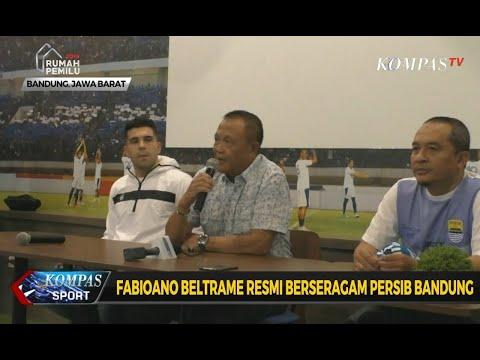 Fabiano Beltrame Resmi Berseragam Persib Bandung