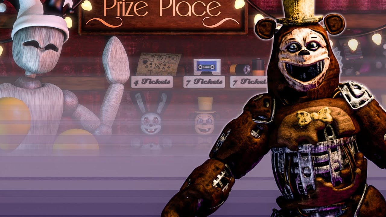 THESE NEW ANIMATRONICS ARE SCARY! FNAF FAN MADE GAME THE TWISTED CARNIVAL
