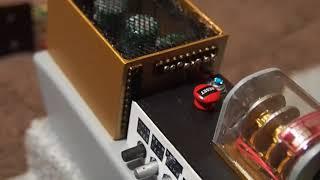 電源装置のディテールアップとプルトニウムチャンバーインジケーターの...
