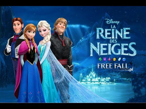 la reine des neiges free fall android gameplay from disney youtube. Black Bedroom Furniture Sets. Home Design Ideas