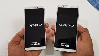 Oppo A83 vs Oppo F5 Speed Test Comparison | Which is Faster !