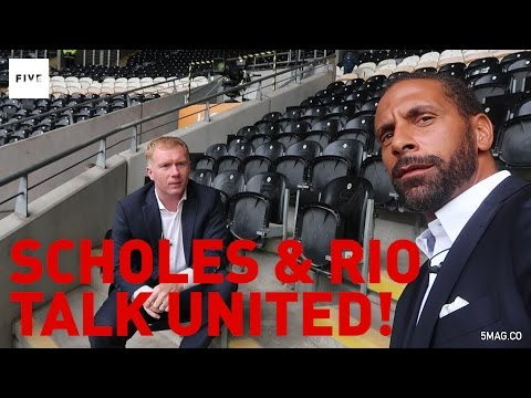 Paul Scholes & Rio Ferdinand talk Manchester United | Rio Vlogs