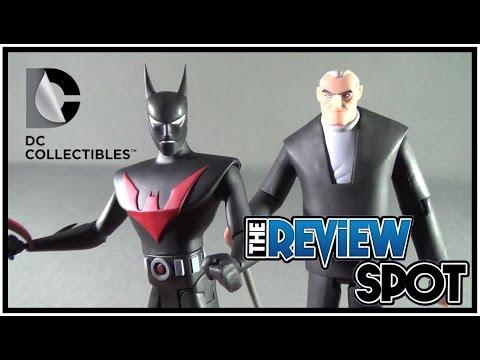 Toy Spot - DC Collectibles Batman Beyond Bruce Wayne and Batman Figure Set