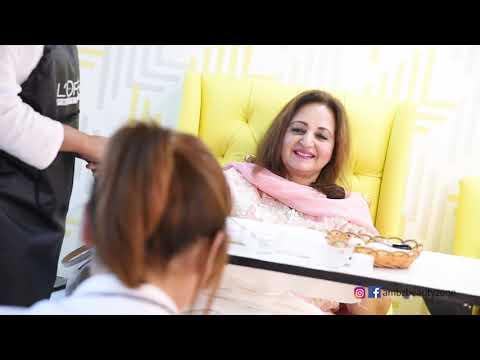 Laila Zuberi - Celebrity & Actress - Manicure & Pedicure Services at Ambz Salon thumbnail