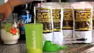 Как Сделать Натуральный Протеиновый Коктейль Для Похудения И Наращивания Мышц [Рецепт Протеинового