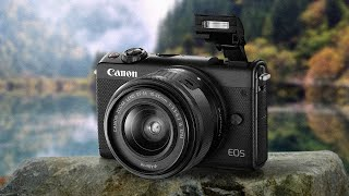 Canon EOS M100 with 15-45mm Lens