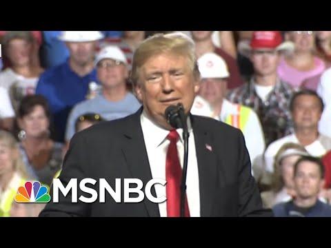 President Donald Trump's Jab At George HW Bush Lands With A Thud | Deadline | MSNBC