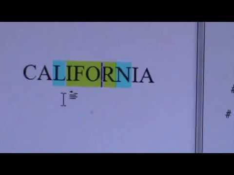 CALIFORNIA, JESUS AT CENTRE!! (M2U06808!)