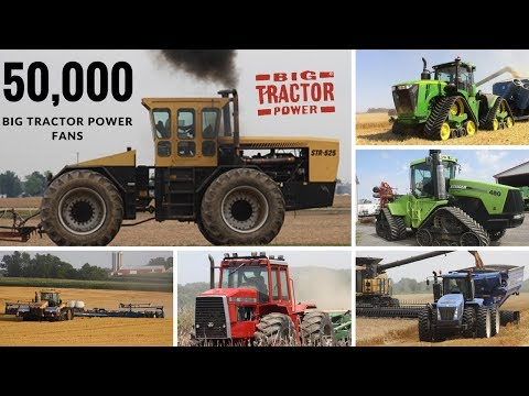 50,000 Big Tractor Power Fans