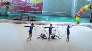 художественная гимнастика команда города Гвардейск,Калининград