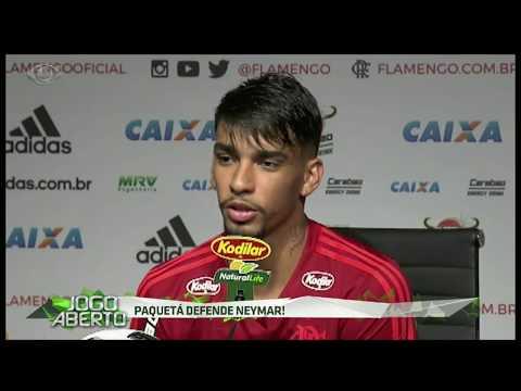 Paquetá: Queria entender as pessoas que criticam Neymar