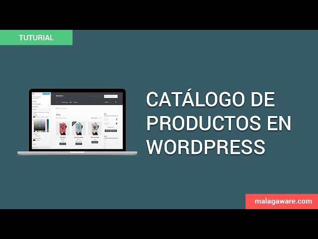 Catálogo de productos en WordPress Sin Carrito Gratis