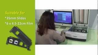 Microtek ScanMaker 1000XL Plus A3 graphic film photo scanner Video