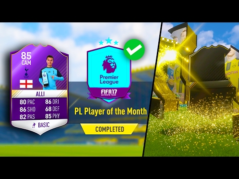 PURPLE DELE ALLI! PL PLAYER OF THE MONTH SBC w/ OTW IN A PACK! (COMPLETED) FIFA 17 ULTIMATE TEAM