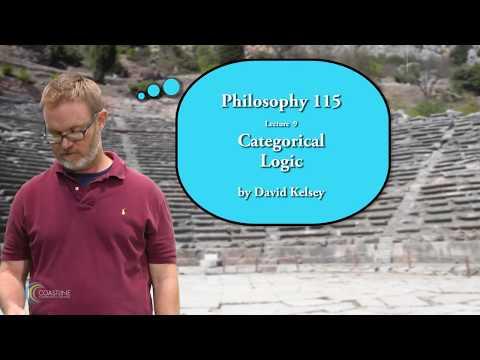 Lesson 9 - Categorical Logic