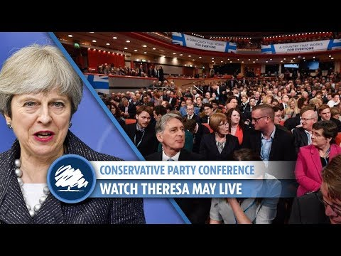 Theresa May's speech at Conservative Party conference (FULL)