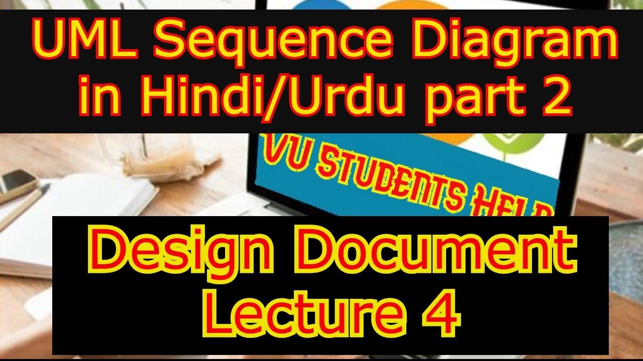 UML sequence Diagram Part 2 Design Document Lecture 4 ...
