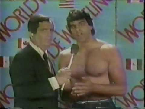 Angelo Mosca Jr. awful interview (04/84)