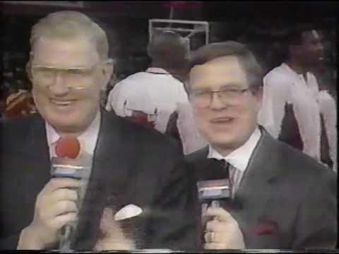 Chicago Bulls Announcer John Red Kerr Tribute 1991