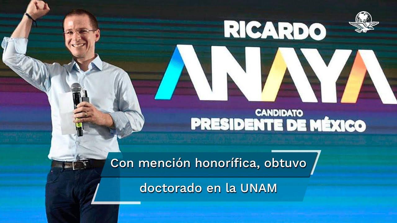 ¿Quién es Ricardo Anaya?