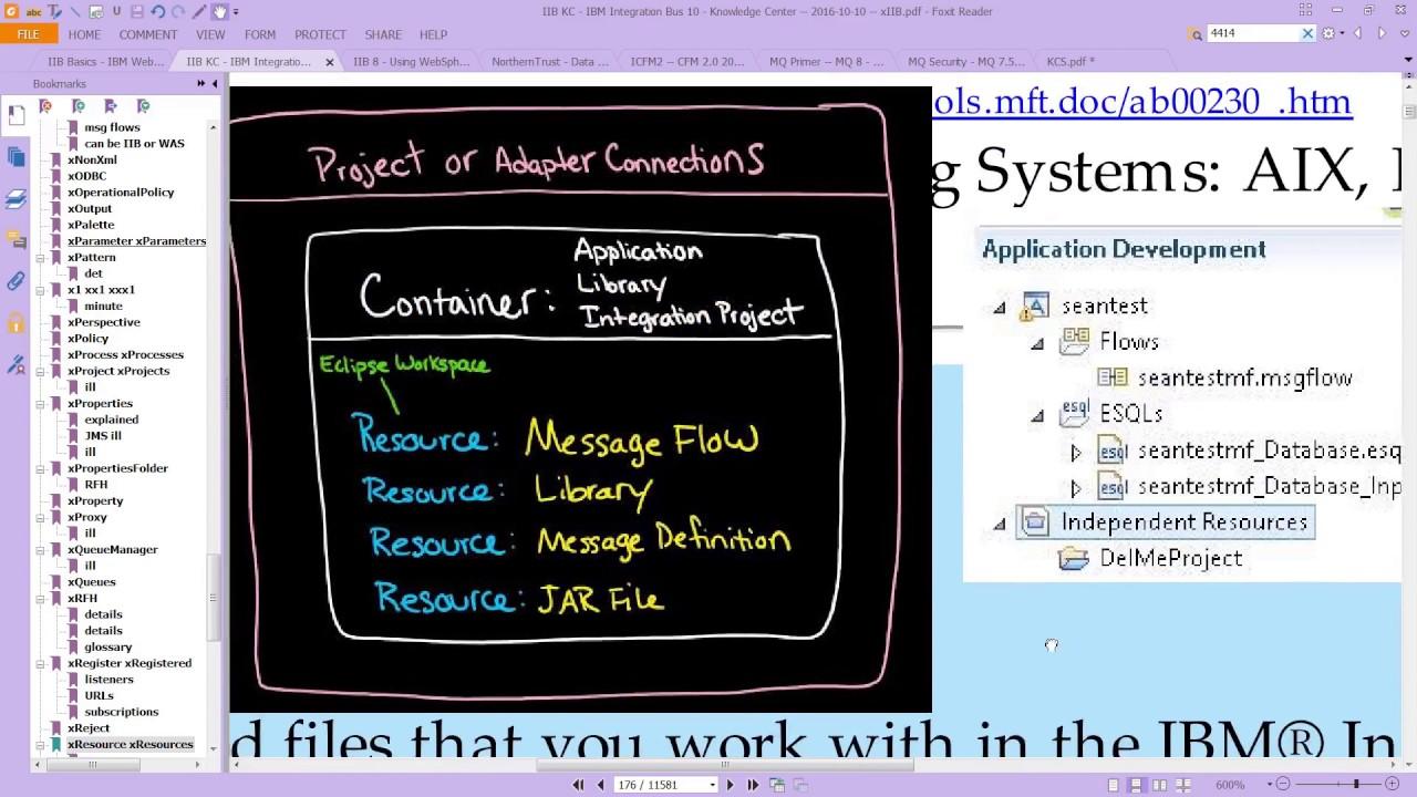 An Ii B B Iib Lab Create An Iib Message Flow Application Part 1 Youtube