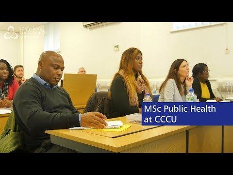 Study MSc Public Health - Canterbury Christ Church University