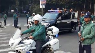 সরাসরি শেখ হাসিনা গাড়ি । prime minister security protect thumbnail