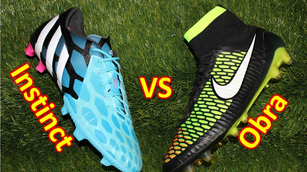 hot sale online c3b76 d99c9 Nike Magista Obra VS Adidas Predator Instinct - Comparison + Review