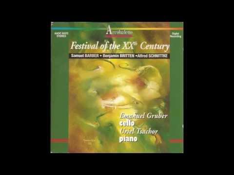 Alfred Schnittke - Sonata for cello and piano (1978)