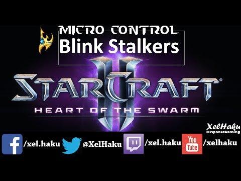 MicroControl #3 (Protoss) Blink Stalkers /Starcraft2