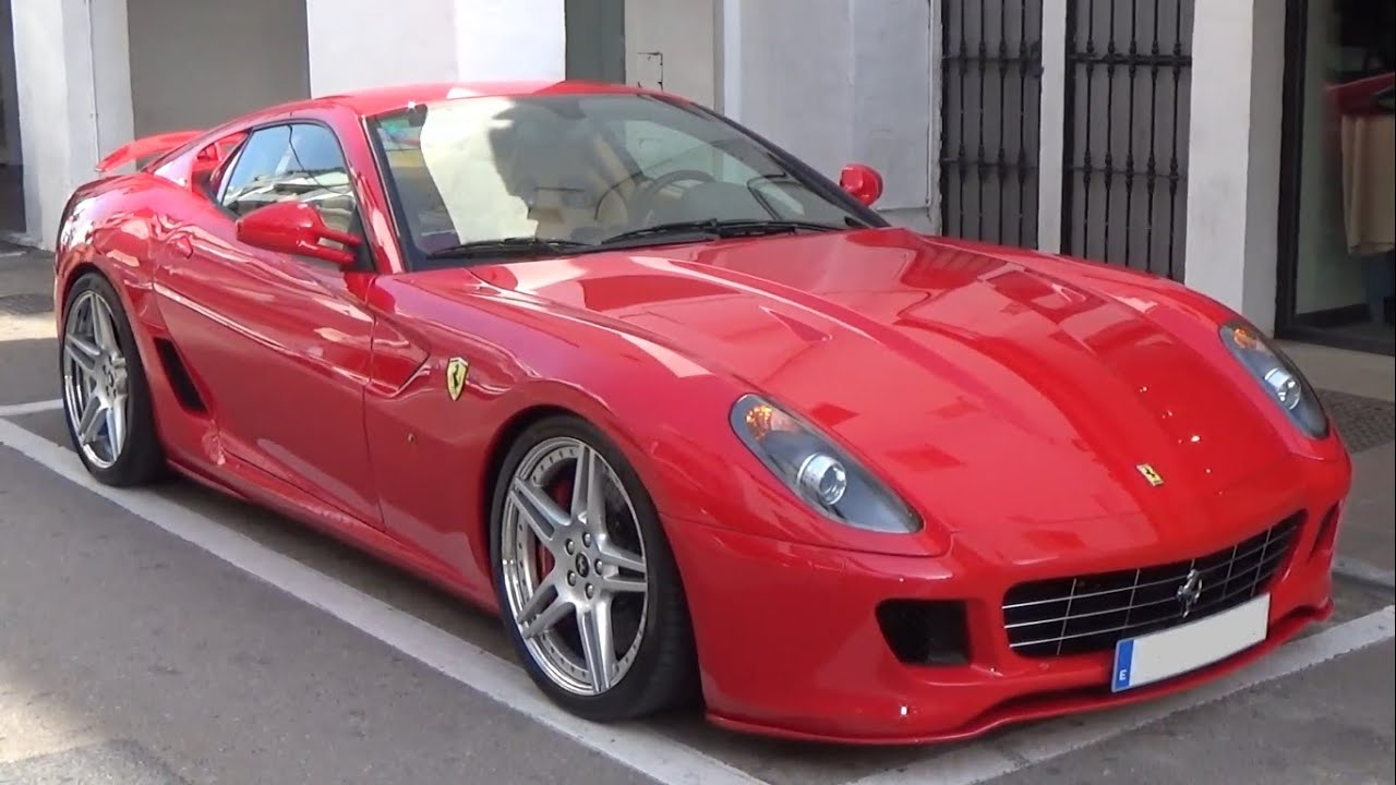 novitec rosso ferrari 599 gtb fiorano youtube. Black Bedroom Furniture Sets. Home Design Ideas