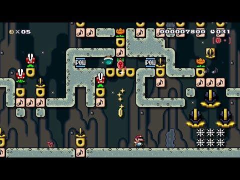 演奏×スピードラン ♪激突!グルメレース: Beating Super Mario Maker's Coolest Levels!